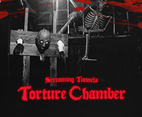 Screaming Tunnels Haunted House & Torture Chamber Logo